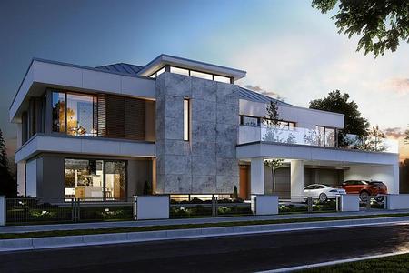 Двухэтажная резиденция