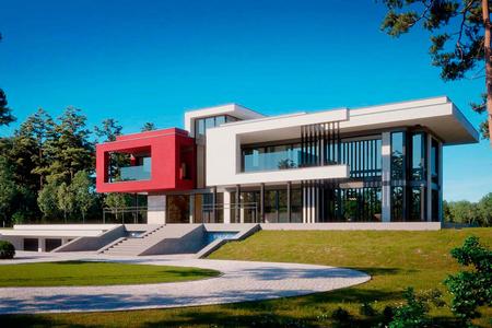 Большая резиденция в стиле Хай-Тек | Гослар