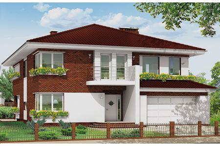 Дом с подвалом в стиле модерн | Элфин