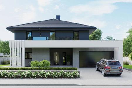 Современный загородный дом | Расленд