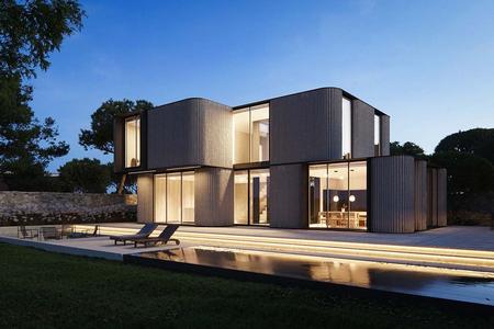 Проект современной резиденции Асорда | Строительство под ключ