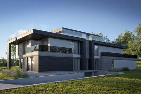 Трехэтажная резиденция в стиле Хай-Тек | Скалс фото №1
