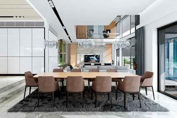 Большая загородная резиденция дизайн