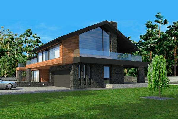 Резиденция в стиле Шале | Проектирование