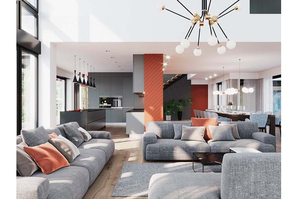 Большая резиденция в стиле Хай-Тек | Гослар дизайн интерьера фото №9