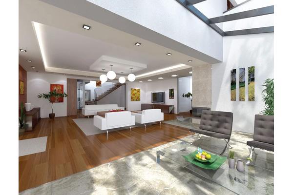 Большой двухэтажный дом в стиле Модерн | Дизайн интерьера Фото №2