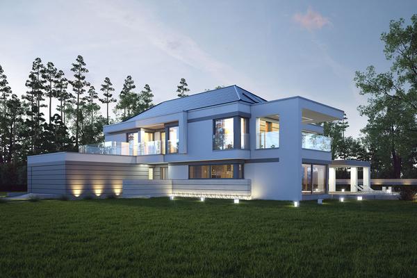 Большой современный дом | Элленберг фото №3