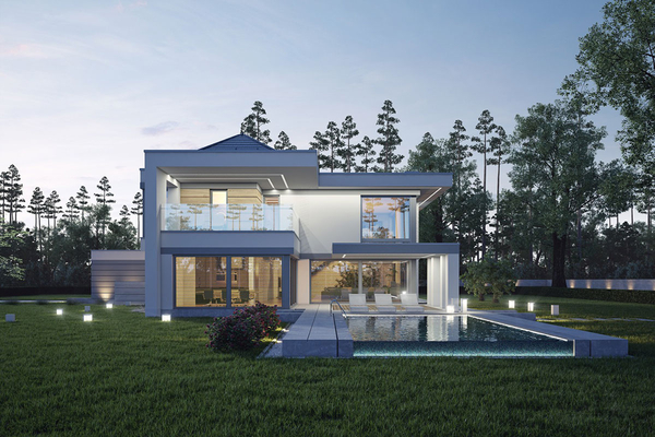 Большой современный дом | Элленберг фото №4