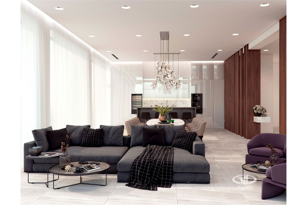 Резиденция в стиле минимализм | Молеон фото №19