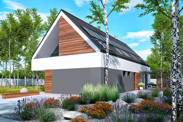Лорван - современный дом в стиле Барн | Фото №5