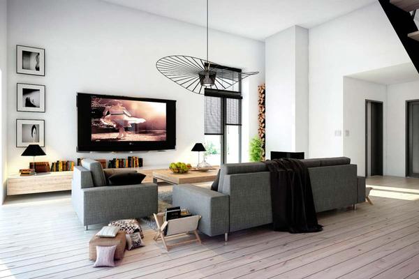 Оригинальный дом в стиле Хай-Тек | Дизайн интерьера