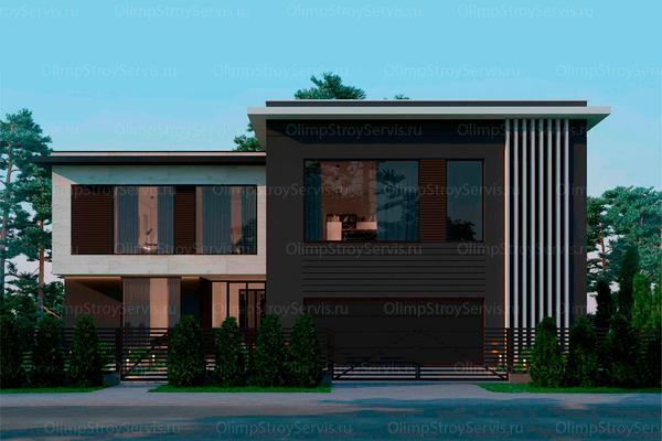 Резиденция в стиле минимализм | Молеон фото №1