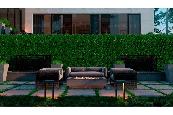 Резиденция в стиле минимализм | Молеон фото №12