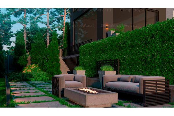 Резиденция в стиле минимализм | Молеон фото №13