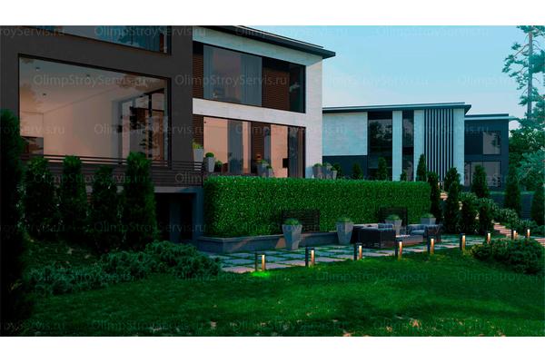 Резиденция в стиле минимализм | Молеон фото №14