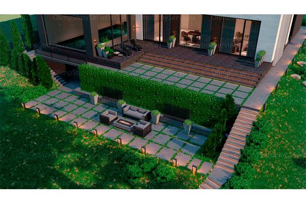 Резиденция в стиле минимализм | Молеон фото №15