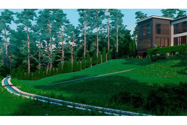 Резиденция в стиле минимализм | Молеон фото №16