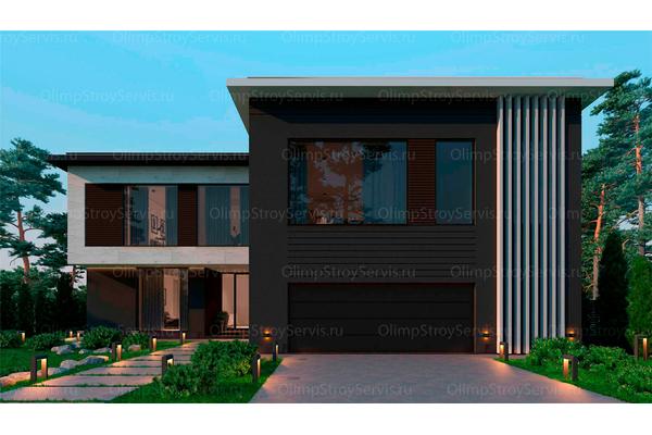 Резиденция в стиле минимализм | Молеон фото №2