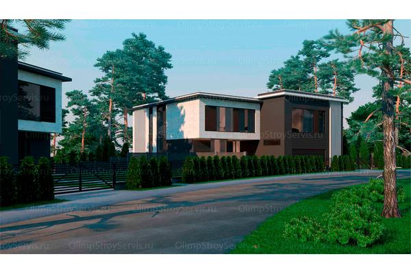Резиденция в стиле минимализм | Молеон фото №4