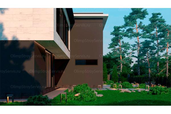 Резиденция в стиле минимализм | Молеон фото №5