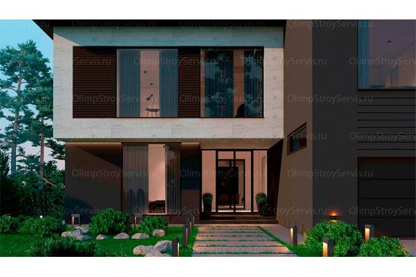 Резиденция в стиле минимализм | Молеон фото №6
