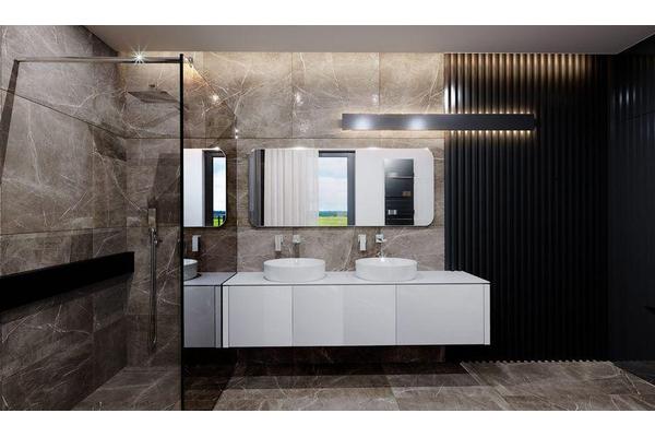 Современный загородный дом | Дизайн интерьера фото №16