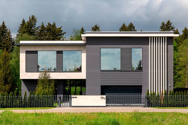 Резиденция в стиле минимализм | Молеон