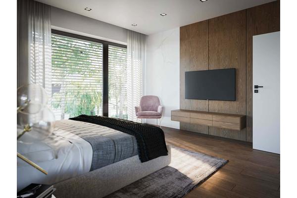 Современный двухэтажный дом с гаражом | Фото интерьера дома №15