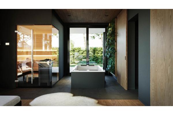 Современный двухэтажный дом с гаражом | Фото интерьера дома №23