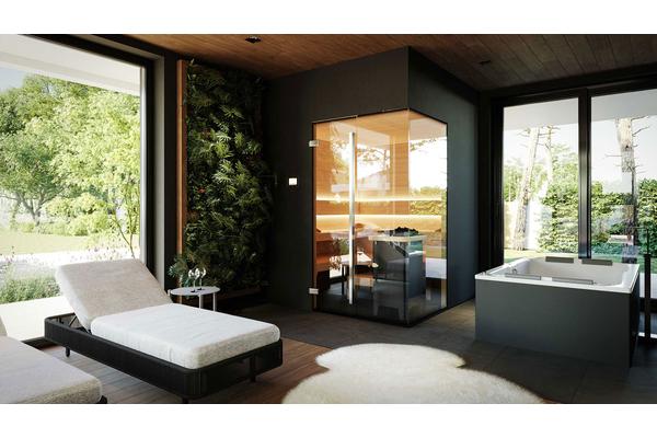 Современный двухэтажный дом с гаражом | Фото интерьера дома №24