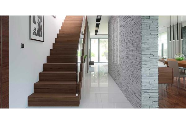Современный дом с мансардой | Фото дизайна интерьера №11