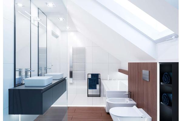 Современный дом с мансардой | Фото дизайна интерьера №15