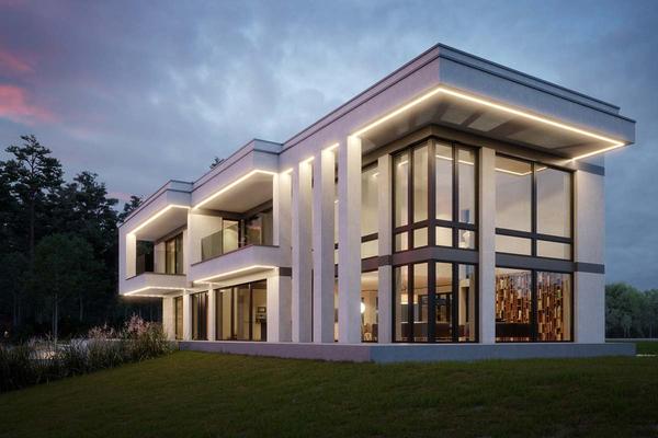 Двухэтажная резиденция с бассейном | Мелен фото №4