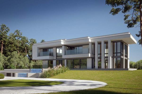 Двухэтажная резиденция с бассейном | Мелен фото №5