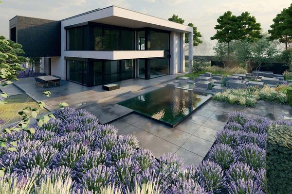 Двухэтажная резиденция в современном стиле | Тарп фото №3