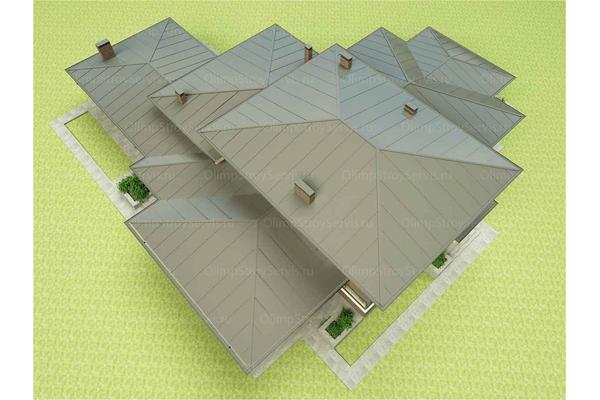 Двухэтажный дом в стиле Райта | Гринвальд фото №10