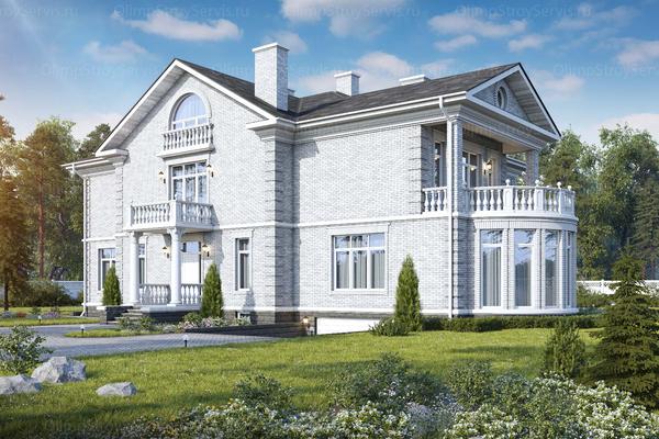 Классический проект дома
