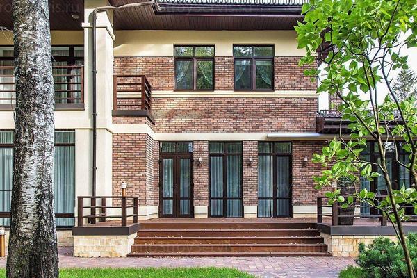 Коттедж с комбинированным фасадом | Бильбау фото №9