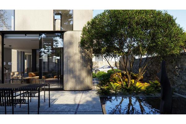 Летняя терраса современного дома