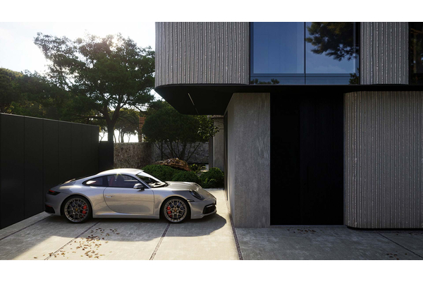 Современная резиденция без гаража