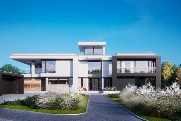Резиденция в стиле Хай-Тек «Гартмор» | Проектирование и строительство фото №4