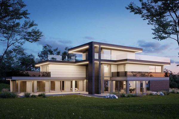 Трехэтажная резиденция в стиле Хай-Тек | Скалс фото №4