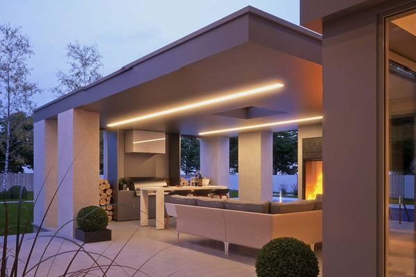 Современный дом с навесом для автомобиля | Мердорф фото №4
