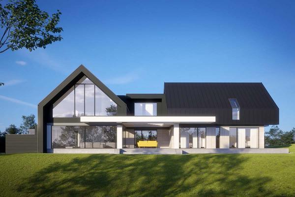 Современный дом в стиле Барн Хаус | Вилар фото №4