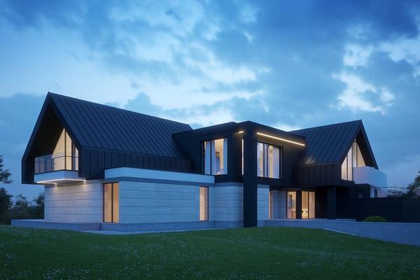 Современный дом в стиле Барн Хаус | Вилар фото №6