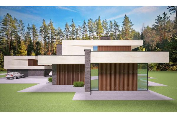 Современный двухэтажный дом с плоской крышей| Калифорния фото №10