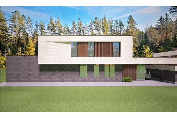 Современный двухэтажный дом с плоской крышей| Калифорния фото №15