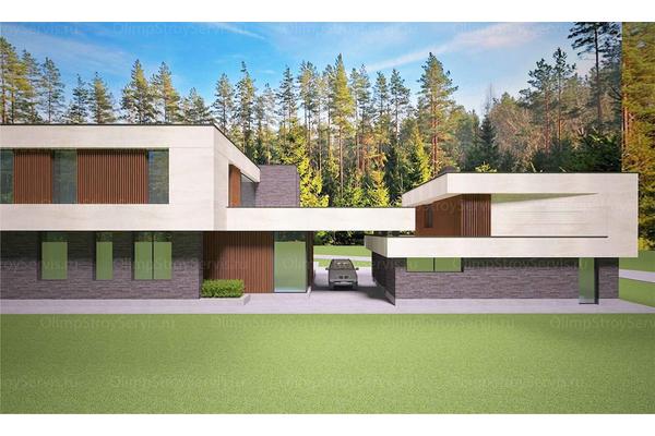 Современный двухэтажный дом с плоской крышей| Калифорния фото №16