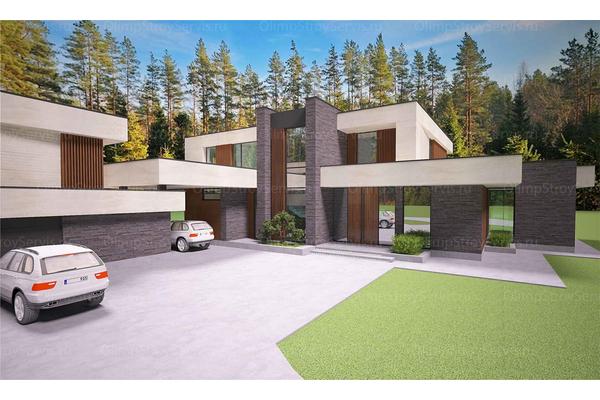 Современный двухэтажный дом с плоской крышей| Калифорния фото №6