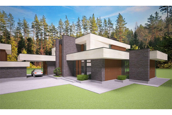 Современный двухэтажный дом с плоской крышей| Калифорния фото №8